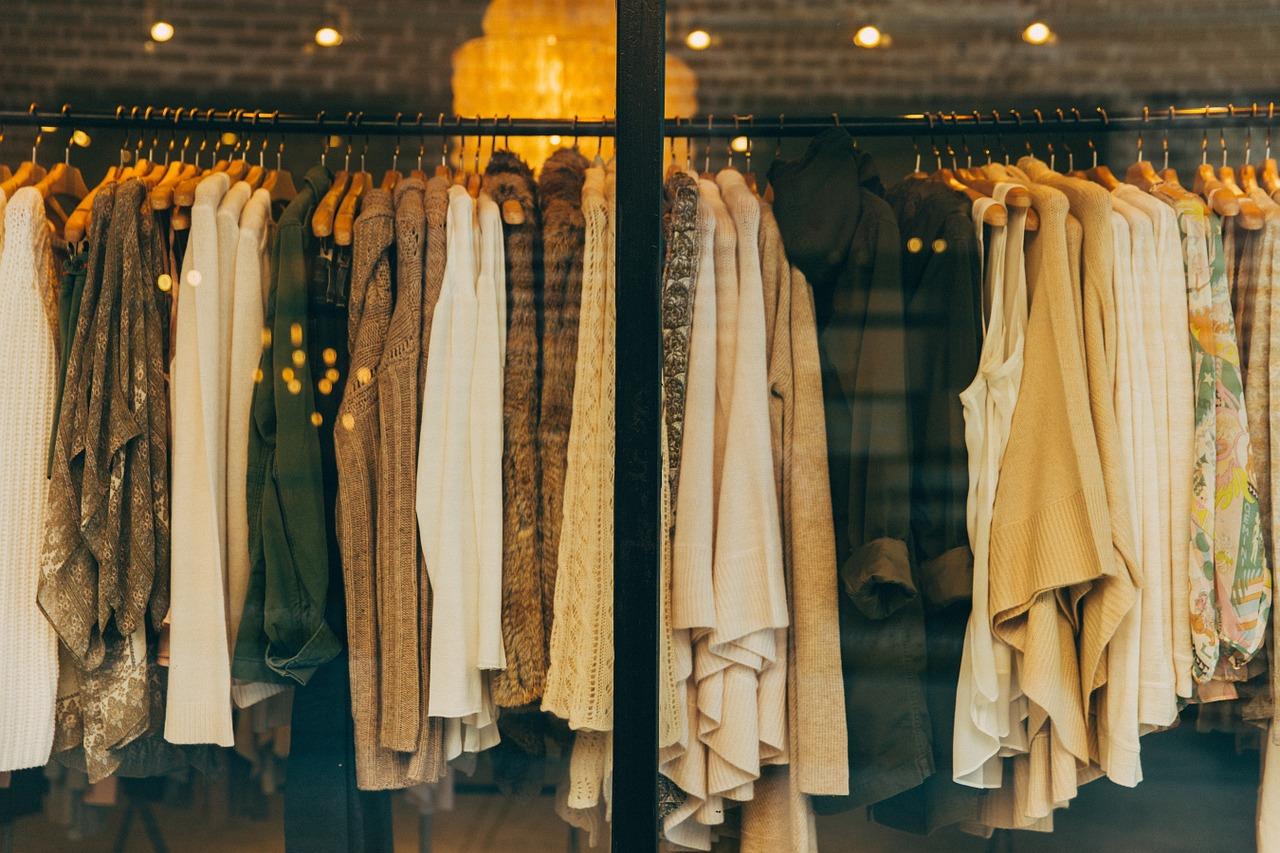Odzieżowe butiki w sieci